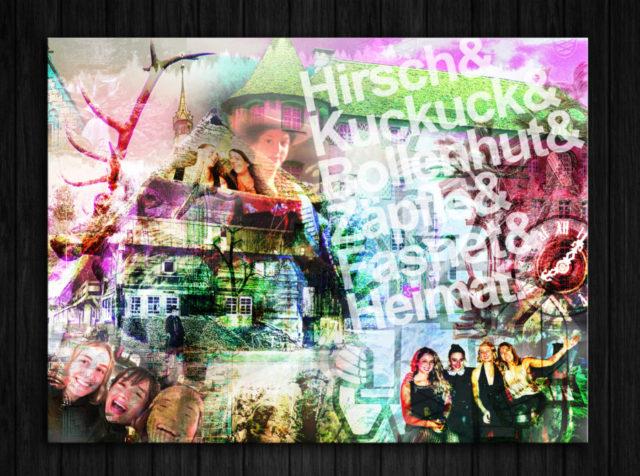 Sarah_Collage_40x30_Wandansicht