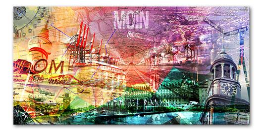 Hamburg Collage Moin Moin