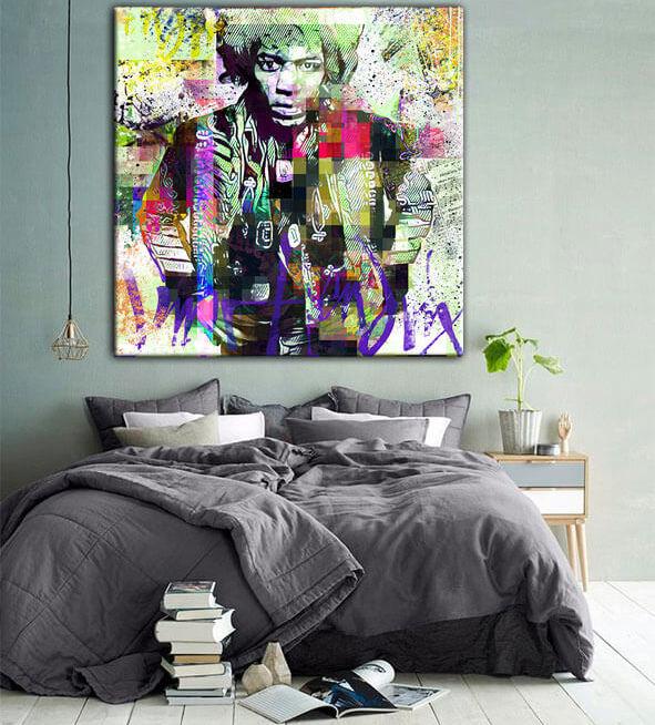 Leinwandbild von Jimi Hendrix