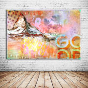Matterhorny Kunstdruck
