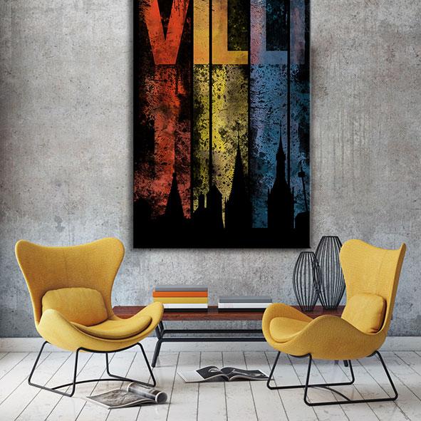 Villi Wandbild