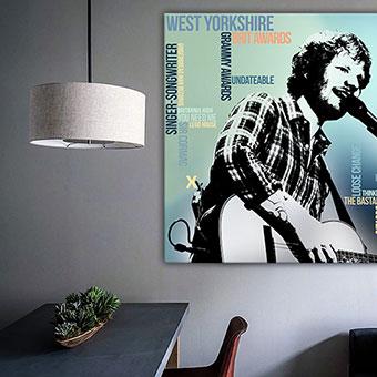 OC-242-Perfect-Ed-Sheeran-Poster-Wandbild-Leinwanddruck-individuelle-Grafik-Gitarre-Wandansicht-neu