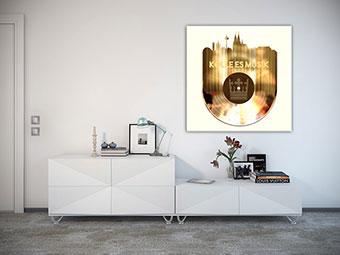 OC-243-Koelle-es-Musik-Wandbild-Skyline-goldene-Schallplatte-Webansicht-3