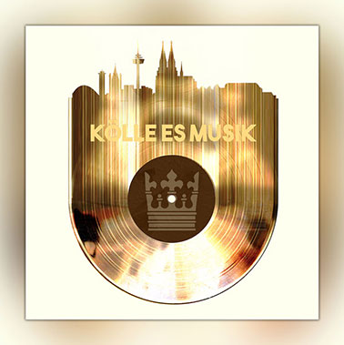 OC-243-Koelle-es-Musik-Wandbild-Skyline-goldene-Schallplatte-Webansicht