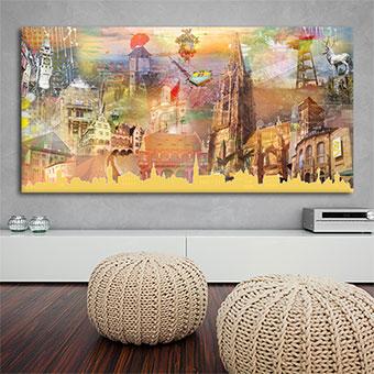 OC-247-Freiburg-Collage-2018-Einsam-Zweisam-Dreisam-Wandansicht-Kunstdruck-web-neu