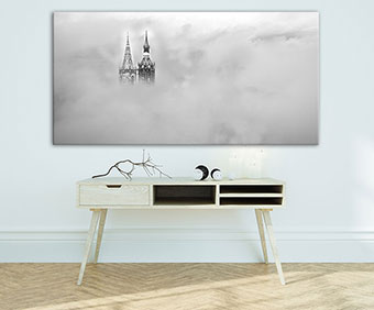 OC-248-Im-Nebel-Villinger-Muenstertuerme-Nebel-Wandbild