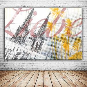 OC-254-Dom-unter-Palmen-12080-Koelner-Dom-Liebe-Deine-Stadt-Collage-Wandansicht-3-2-web
