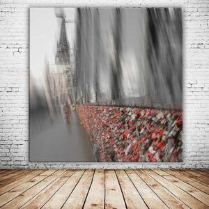 Liebesschloesser am Koelner Dom Hohenzollernbruecke Wandbild abstrakt versandkostenfrei