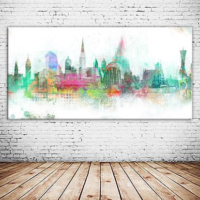 Freiburg im Breisgau Collage individuell versandkostenfrei