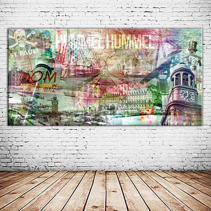 Hummel Hummel Panorama Wandbild individuell gestalten