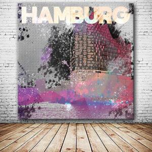 Elbphilharmonie Wandbild versandkostenfrei