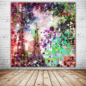 Kölner Dom Lichtblick Wandbild abstrakte Collage