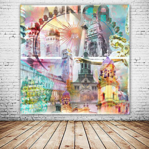 München Minga Collage quadratisch
