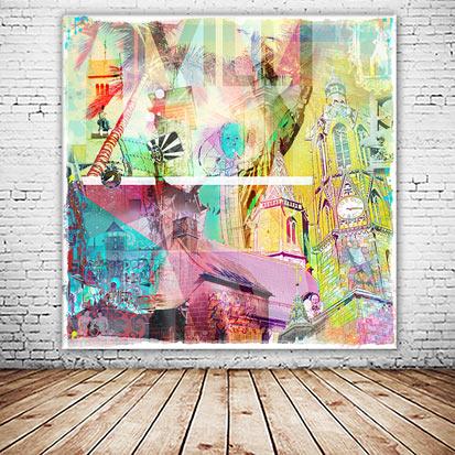 Villi Villingen Collage neu und versandkostenfrei
