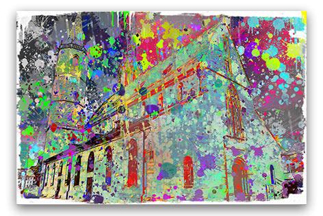 Villlinger Münster ULF Wandbild individuelle Farben