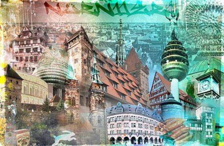 Nürnberg Collage individuell